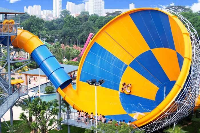 水上乐园一些常见的水上设备